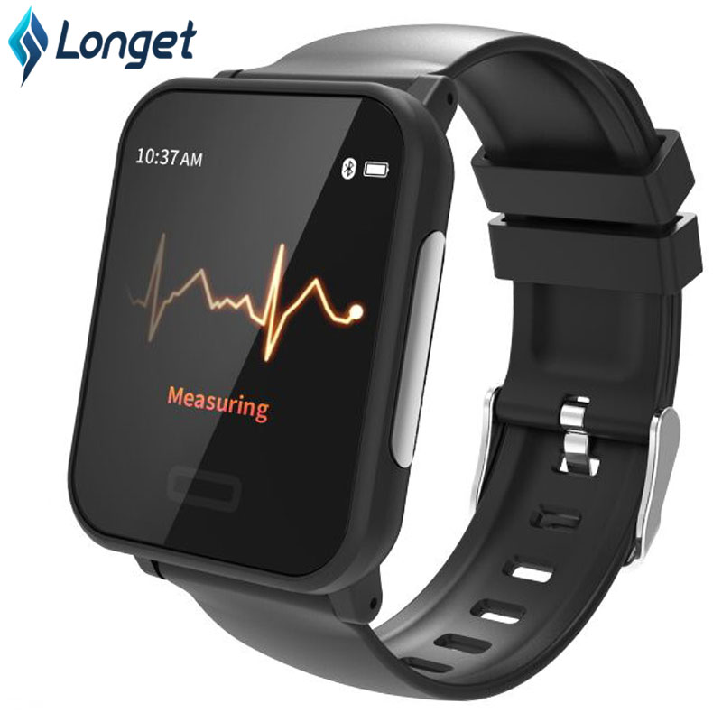 Longet E33 Smart Bracelet with ECG Heart Rate Monitor Fitness Watch Waterproof IP67 Bluetooth Fitness Tracker for iPhone XiaomiLonget E33 Smart Bracelet with ECG Heart Rate Monitor Fitness Watch Waterproof IP67 Bluetooth Fitness Tracker for iPhone Xiaomi