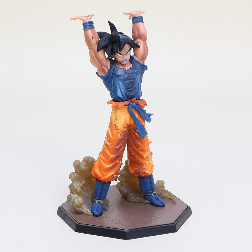 10pcs lot 16cm anime Dragon Ball Z Son Goku Battle Genki dama Son dragonball PVC Action