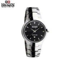 HAIQIN Fashion luxury Ceramic Wristwatch Women wrist watch Elegant Skeleton Quartz Watches Waterproof Dress watches HQ-9020male