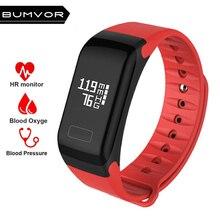 2018 Smart Fitness Bracelet Activity Tracker Wristband Blood Pressure Oxygen Heart Rate IP67 Waterproof PK K1 miband 2