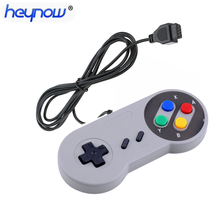 9 pin Controller 1.5m Universal Game Joypad Joystick for Nintendo SNES TV game console Game Controller For TV Game  Player