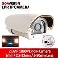 8 Polegada 2.0MP Veículos License Plate Recognition LPR IP Câmera Com 4 Pcs IR LEDs Luz Branca, Uso Ao Ar Livre IP66 à prova d' água