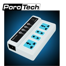 20 Pieces SC3-GSM smart power socket Wireless Mobile Phone PDA GSM Remote Control 4 Outlets Power Socket  Smart Switch