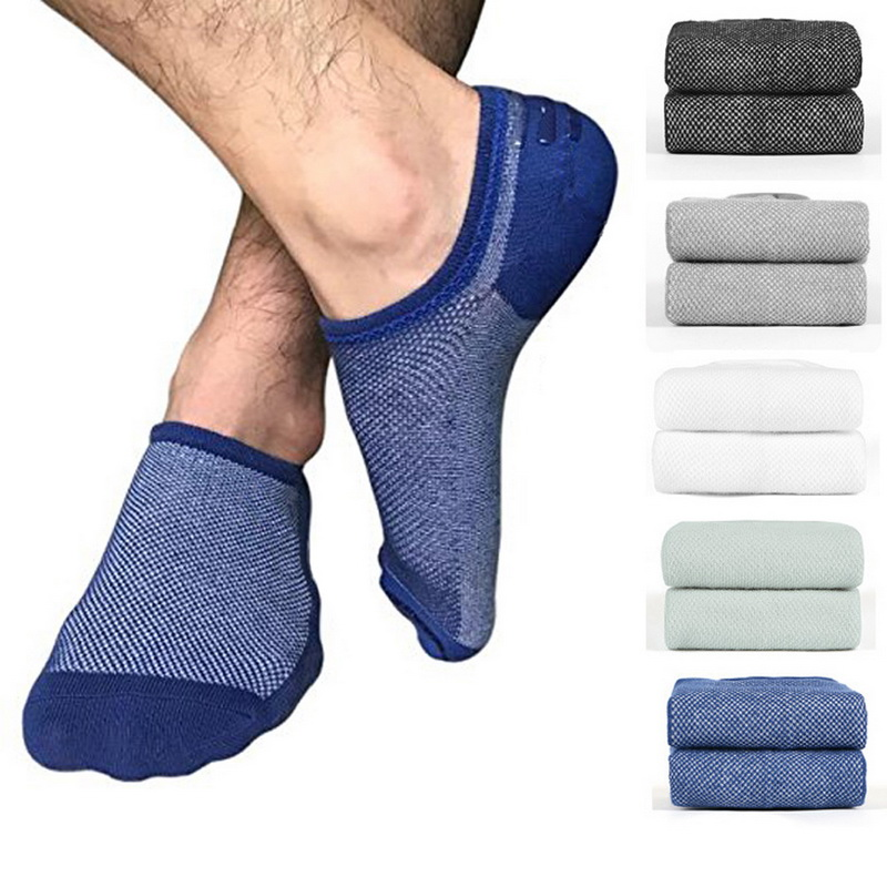 Realistic Nibesser 5/6 Pair Cotton Mesh No Show Socks Solid Cotton Socks Mens Spring And Autumn Breathable Male Freesize Socks 2018 New Factory Direct Selling Price Underwear & Sleepwears