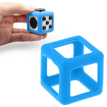 For Fidget Cube Stress Relief Focus Toy Protective Cover Case Black 2017 Only ProtecterChina