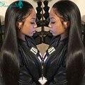 250% Density Lace Front Human Hair Wigs For Black Women Brazilian Full Lace Wigs Straight Virgin Hair Full Lace Human Hair Wigs