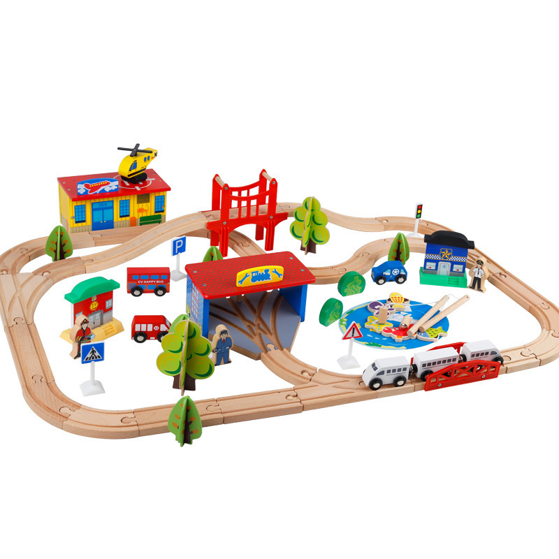 80pcs/set Diecasts Toy Vehicles Kids Toys Thomas train Toy Model Cars wooden Building slot track and fishing toys gifts d418 thomas train track toy electric toy happy farm gift set eyes will move