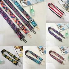 Woman Handbag Strap Accessories Lady Colorful Cotton Boho Chain Adjustable Rivet strap Belt for Shoulder Bag Handbag 2017 New