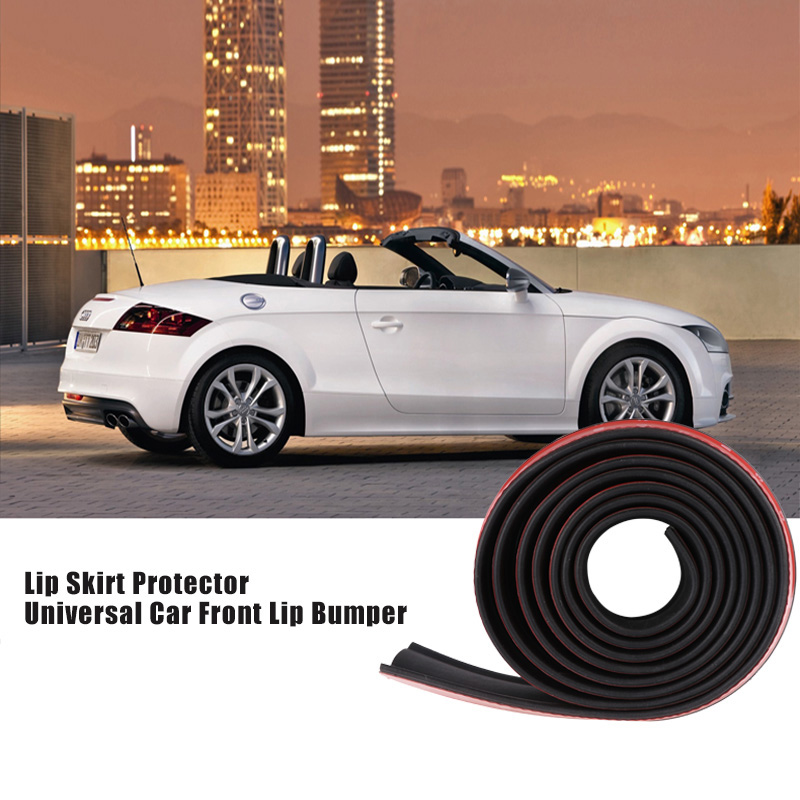 Onever Black Premium 2.5M Car Bumper Lip Protector