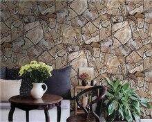 beibehang Beautiful retro stone pattern culture marble texture wallpaper living room restaurant hotel bar brick papel de parede