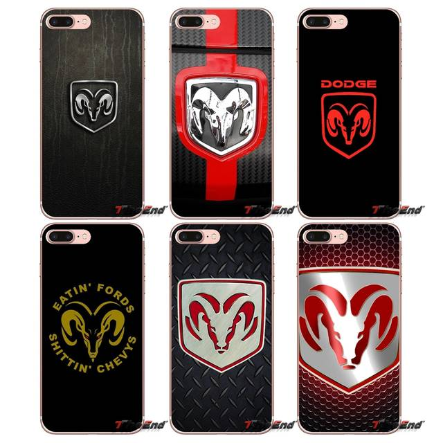 separation shoes c468a 72f1b Camo Dodge Ram logo Soft TPU Phone Case For Apple iPhone X 4 4S 5 5S SE 5C  6 6S 7 8 Plus 6Plus 7plus 8plus Fundas Coque