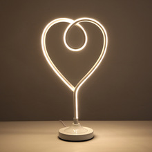 Nordic modern LED clip light learning eye protection reading table lamp night light Valentine's Day gift desk lamp for bedroom metal marble led table lamp living room bedroom reading lamp desk lamp e27 holder eye protection light lustre night luminaria