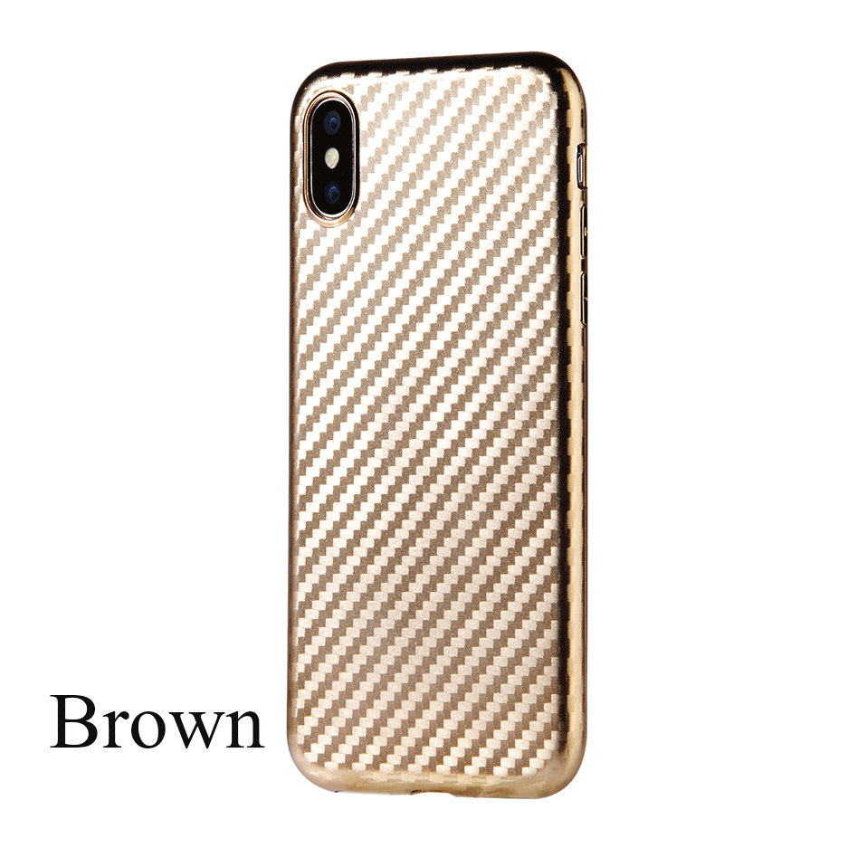 Soft Touch TPU Phone Cases For iphone X 7 8 Stripe For iphone 8 Plus Dirt Resitant For iphone 6 6S Plus Case