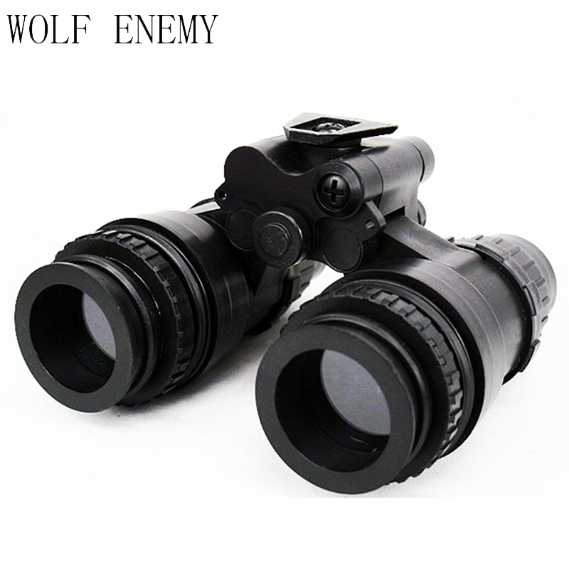 Tactical Dummy AN PVS-15 NVG Night Vision Goggle Black night vision mount nvg accessory