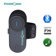 Originele Freedconn TCOM VB Fm 800M Afstand Motorfiets Intercom Draadloze Bluetooth Interphone Helm Headset Oortelefoon