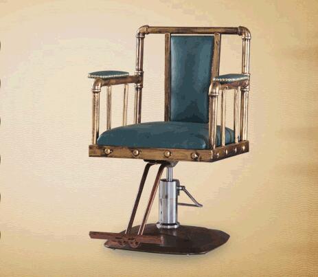Ongebruikt Herstellen oude manieren, smeedijzeren ring kappers stoel QP-25