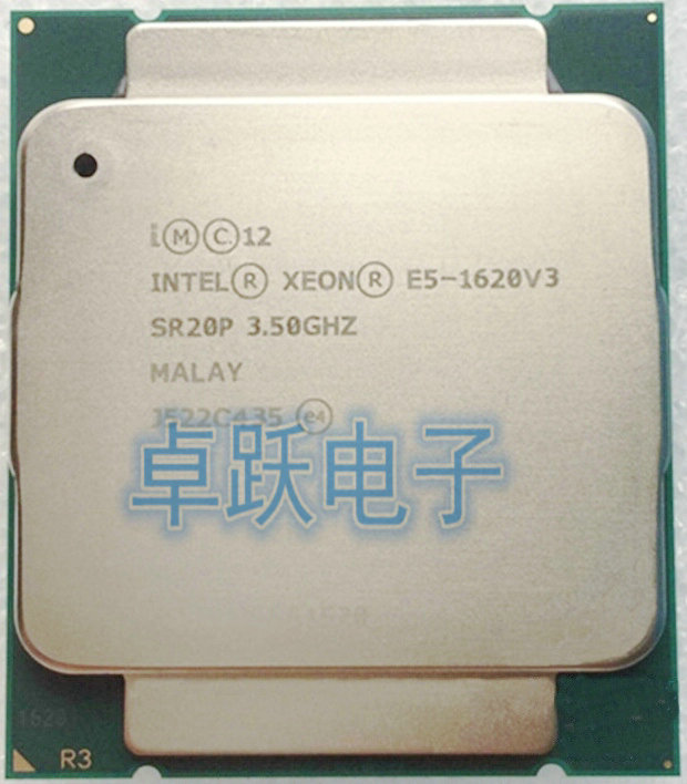 Intel Xeon E5-1620v3 Quad-Core 3.50GHz SR20P 10MB LGA 2011-3 CPU Processor