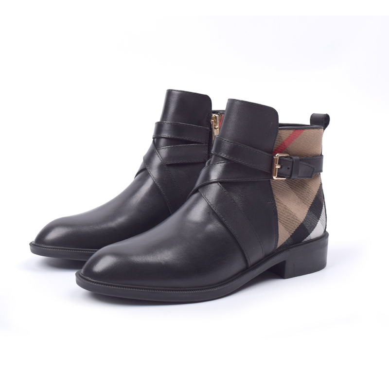 b108975f new fashion classic autumn zip ankle boots for women ladies metal buckle  strap boots shoes woman leather motorcycle boots
