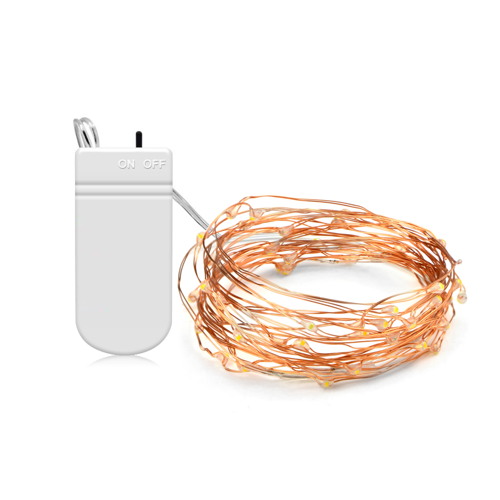 Special Section Aimengte 5m String Led Night Light Battery Powered Outdoor Indoor Led Copper Wire String Fairy Lights Christmas Tree Decor Lamp Led Lamps Led Night Lights