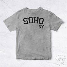 Soho New York Manhattan BIO HANDMADE Retro Oldschool Bronx Fun Joke Engraçado Rir Palavras Brincando América Nyc Ny Liberty-C871(China)