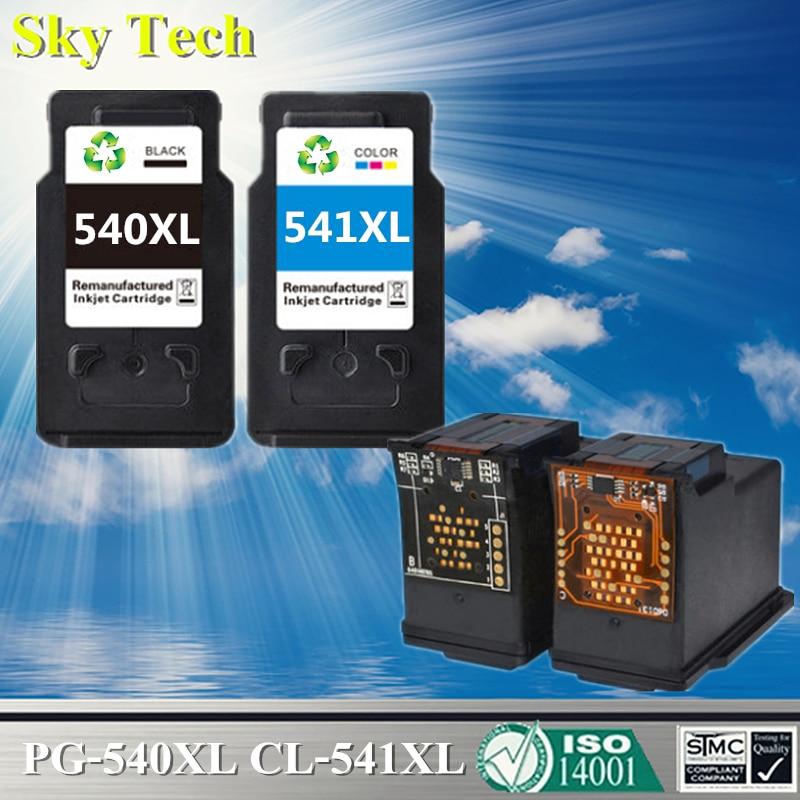 Качественный струйный картридж для PG-540XL CL-541XL PG540 CL541, для Canon MC2250 MG2150 MG3150 MG3250 MG4250 MG4150 MX435/375/515