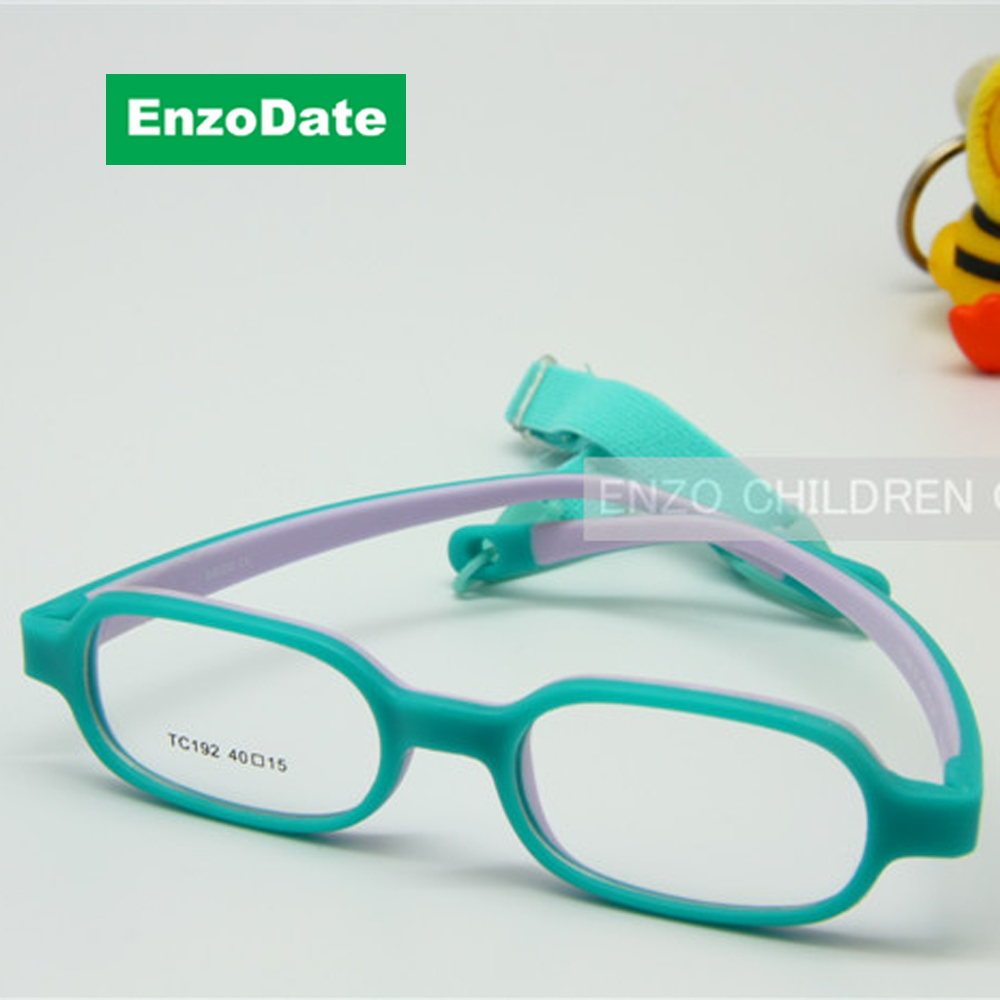 Baby Jungen Optcial Brillengestell Größe 40mm mit Gurt Flexible ...