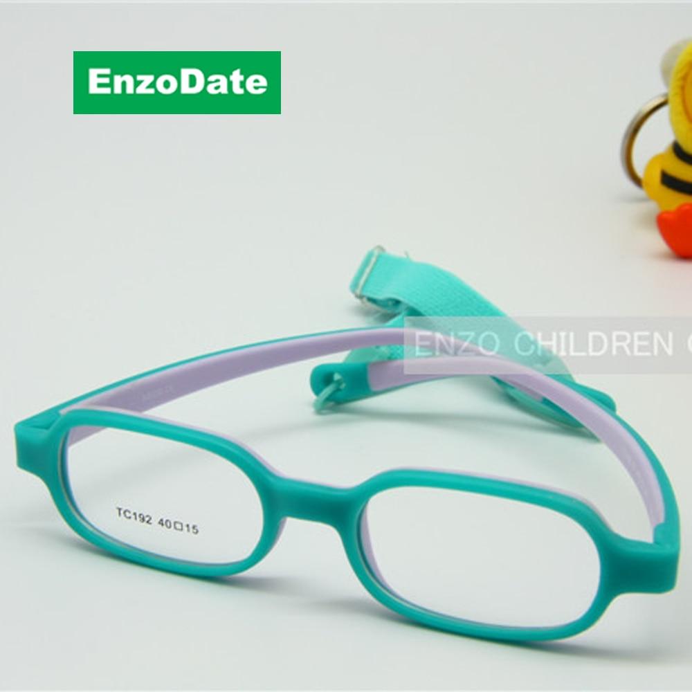 Los bebés Varones Optcial Vidrios Marco Tamaño 40mm con Correa ...