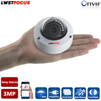 Hikvision Private Protocal 3MP H 265 Ultra Low Light Security IP Camera Mini CCTV IP Camera