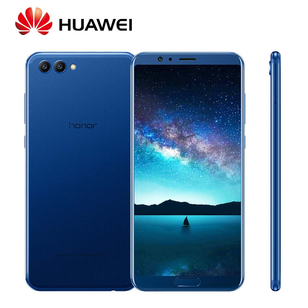 "Global Rom Huawei Honor V10 128GB 20MP+16MP Dual Rear cameras 3750mAh 5.99"" Octa Core 4G LTE Mobile Phone"