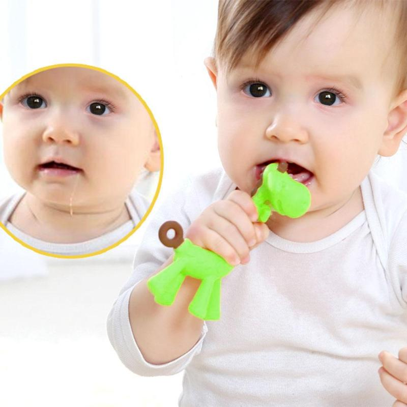 Home Search For Flights Baby Outfit Silicone Teether Baby Teething Toys Silicone Beads Letter Boy And Girl Flower Shaped Women Fashion Wearing