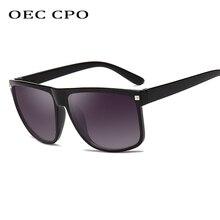 OEC CPC 2019 Square Sunglasses Men Brand Designer High Quality Oversized Sunglasses For Women Sunglass Polycarbonate UV400 O50