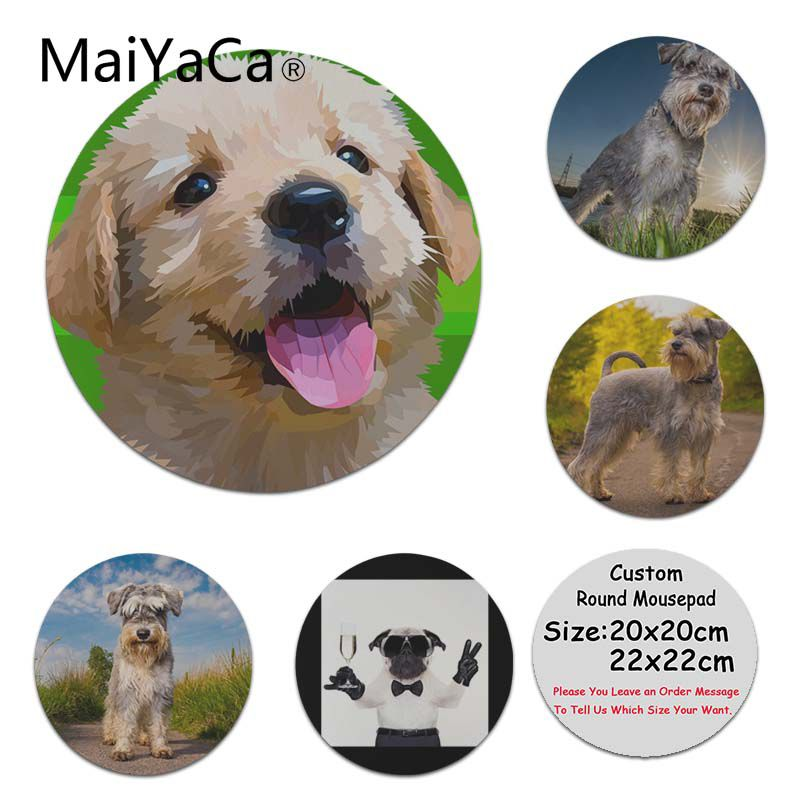 MaiYaCa Vintage Cool Dogs Silicone Pad to Mouse Game Customized MousePads Computer Laptop Anime Mouse Mat