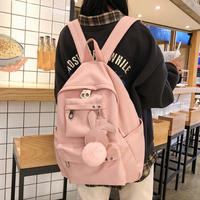 2019 Vintage Women Backpack Japan Style Leisure Travel Backpack For Girl Female Over Shoulder Bag Rucksack Mochila Nylon Bagpack