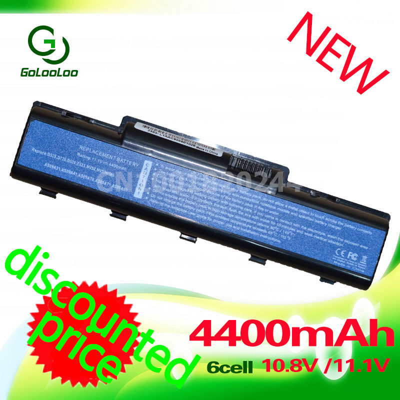 Golooloo laptop battery for Acer Aspire 5732 4732Z 5516 5517 AS09A31 AS09A41 AS09A51 AS09A61 AS09A75 for Emachine D525 D725 цена