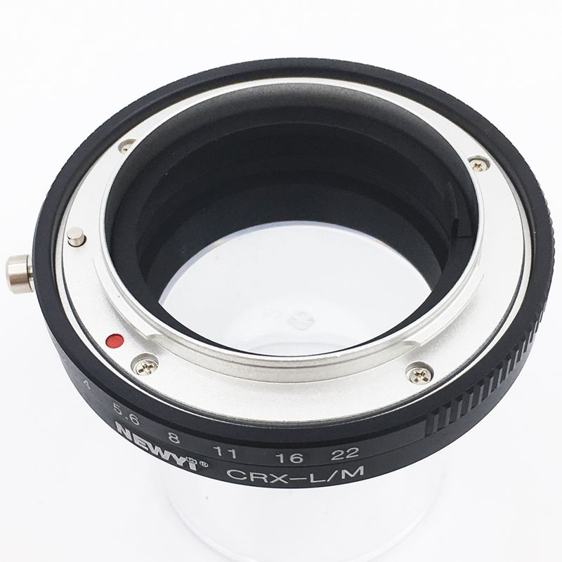 Image 3 - NEWYI For Contarex Crx Lens To Leica M Lm M4 M5 M6 M7 M8 M9 Mp Techart Lm Ea7 Adapter camera Lens Converter Adapter Ring-in Lens Adapter from Consumer Electronics