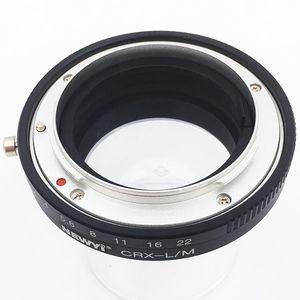 Image 3 - NEWYI pour objectif Contarex Crx à Leica M Lm M4 M5 M6 M7 M8 M9 Mp Techart adaptateur de Lm Ea7
