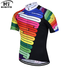 KIDITOKT Hilai Breathable 2017 Pro Cycling Jersey Summer MTB Bike Wear Clothes Bicycle Clothing Ropa Maillot Ciclismo