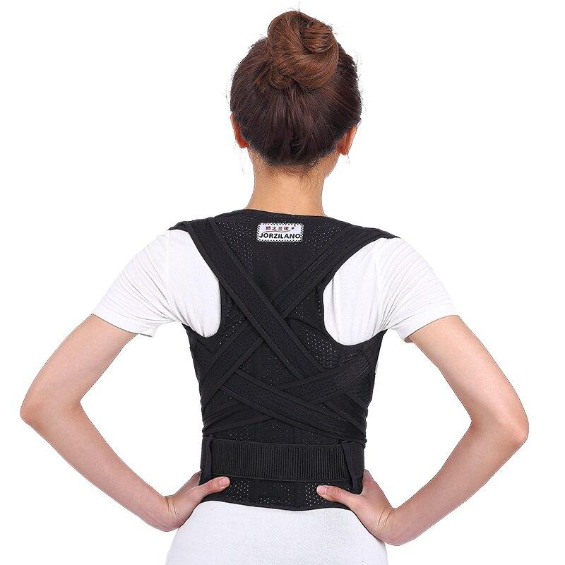High Quality Flexibility Posture Corrector Back Shoulder Support Back Support Posture Correction Supporting Belt Back Massager free size o x form legs posture corrector belt braces
