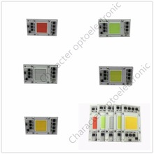 50W 220V LED COB communication chip IC intelligent drive without the red green blue white light warm light bulb for LED DIY creative led light bulb keychain green white