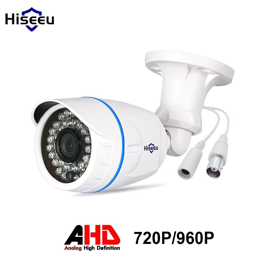 HD AHD Caméra de Surveillance Analogique 1200TVL/1500TVL AHDM 1.0MP/1.3MP 720 P/960 P AHD CCTV Caméra sécurité Extérieure Hiseeu