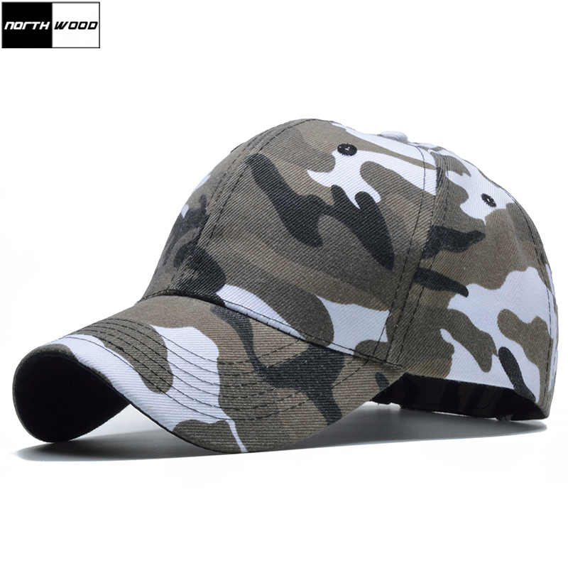 02b85098aea69 Detail Feedback Questions about  NORTHWOOD  Snow Camo Baseball Cap Men  Tactical Cap Camouflage Snapback Hat For Men High Quality Bone Masculino  Dad Hat ...