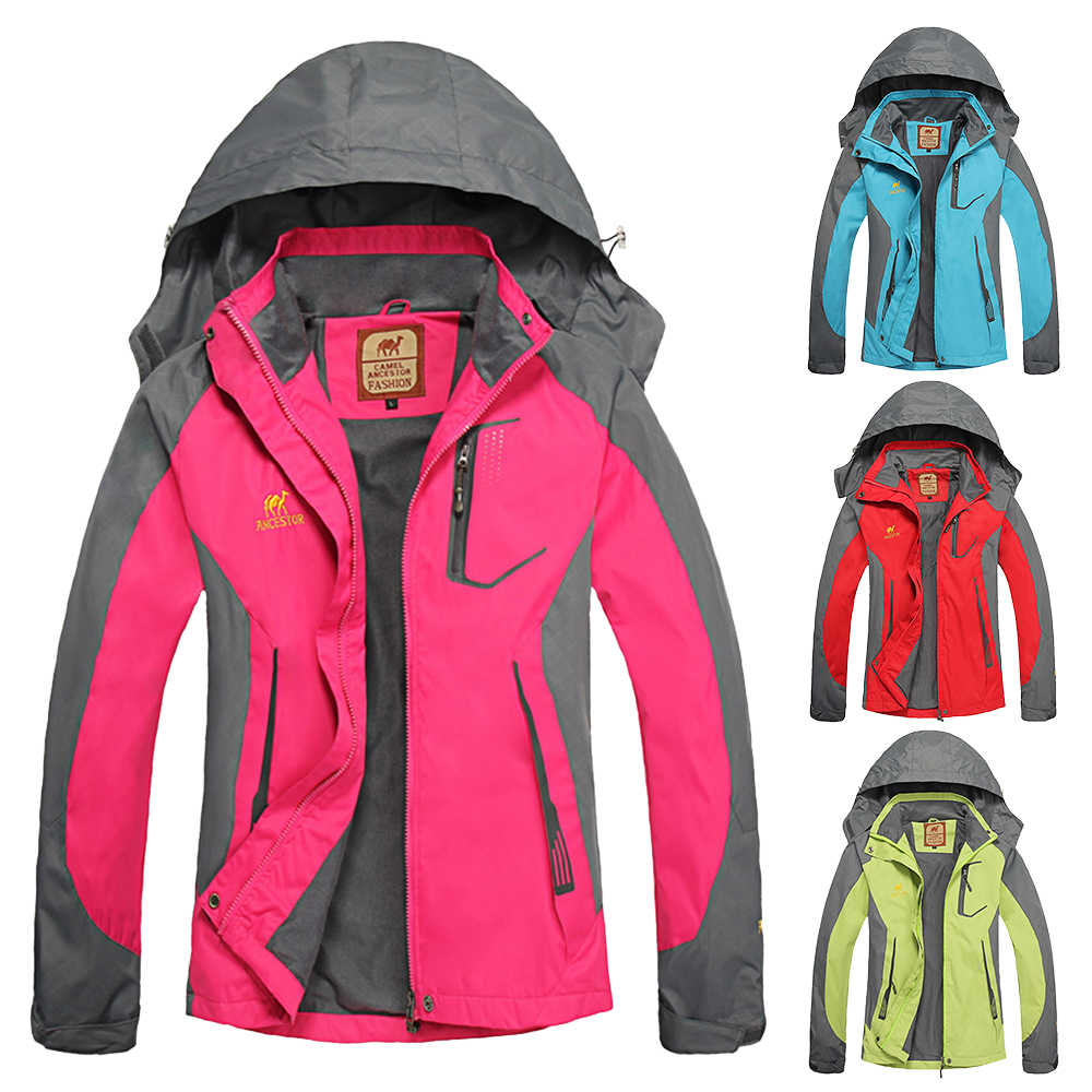 Sportswear Cycling Jacket Brand-Clothing Waterproof Outdoor Hooded-Coat Women Female