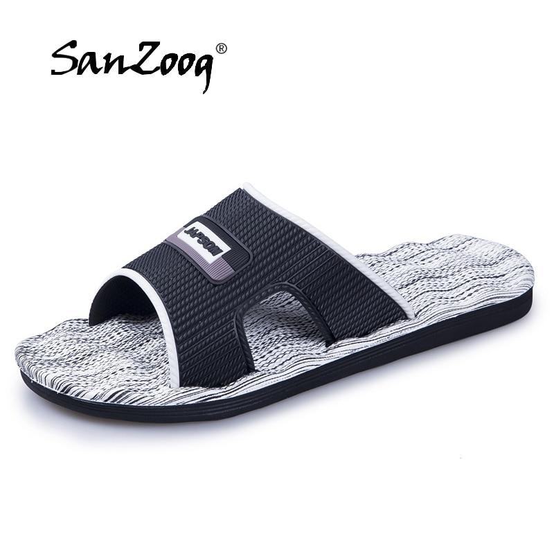 Sommer Männer Hausschuhe Schuhe Männer Männlichen Flip-flops Casual Strand Dias Indoor Hause Slip Auf Hausschuhe Massage Hausschuhe Camouflage 2019 Schuhe