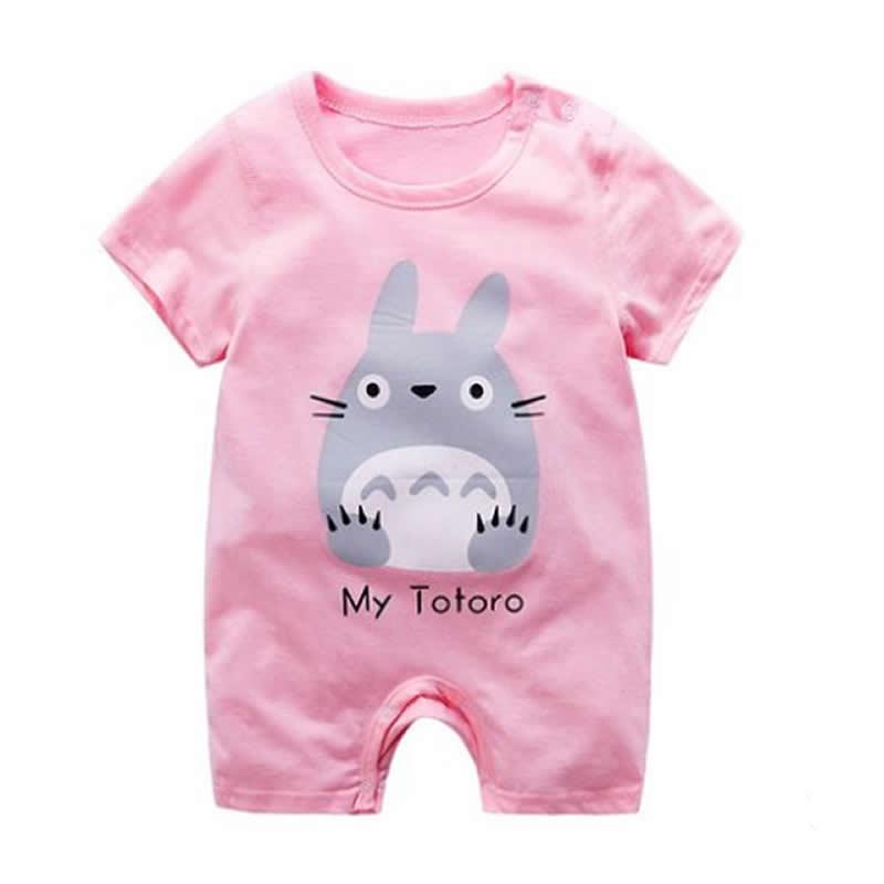 Baby Box Newborn Baby Girl Short Sleeve Romper Jumpsuit One Piece