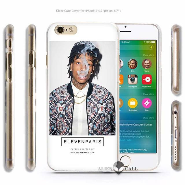 Wiz Khalifa Hard Transparent Phone Case Cover Coque for Apple iPhone 4 4s 5 5s SE 5C 6 6s 7 Plus