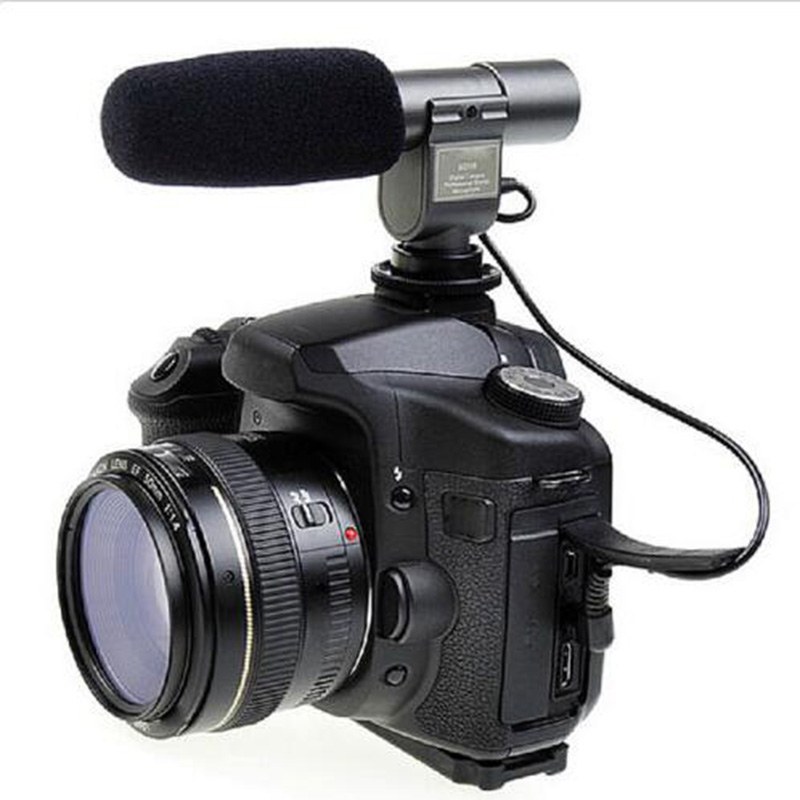 SG-108 Camera microphone Shortgun Mic Video for Canon nikon DV DSLR 5D 5dII 5d3 7D 60D 50d 60d 1200d 1300d d5100 d810 d4 d3x