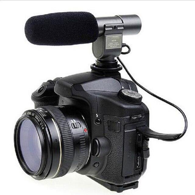 sg 108 kamera mikrofon shortgun mic video f r canon nikon. Black Bedroom Furniture Sets. Home Design Ideas