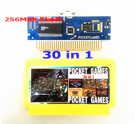 30 in 1 NTSC & PAL 8bit FC60Pins 게임 카트리지 반복 없음, Earthbound, Final Fantasy123, Faxanadu, TheZeldaI & II, Zen