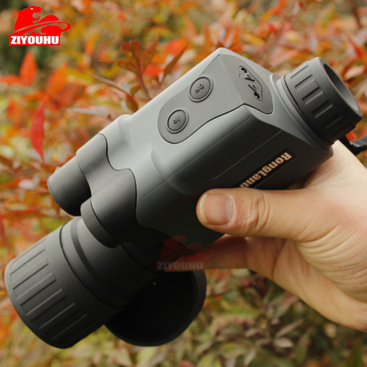 German quality RongLand 5X50 Monocular Infrared Night Vision Device Tactical IR Night vision binoculars For Hunting rongland nv 760d infrared night vision ir monocular telescopes 7x60 dvr record