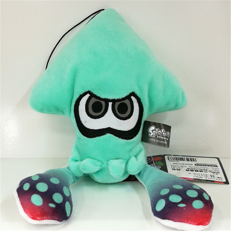 25cm New Splatoon Inkling Squid Plush Doll Toy Stuffed Animal Doll